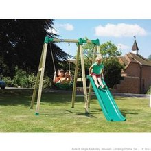outdoor toys tp forest multiplay swing and slide t