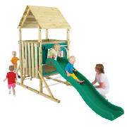 TP Kingswood Low Tower Wooden Climbing Frame Set product image