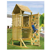 TP Kingswood Top Deck Wooden Climbing Frame Set product image