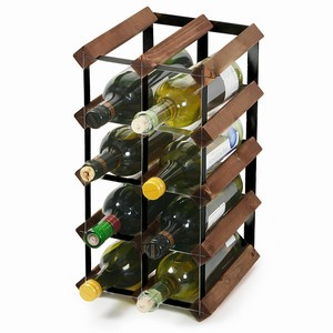 Wooden Wine Rack - Dark Oak and