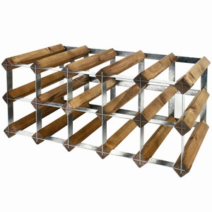 Wooden Wine Rack - Pine (6x6 Hole)