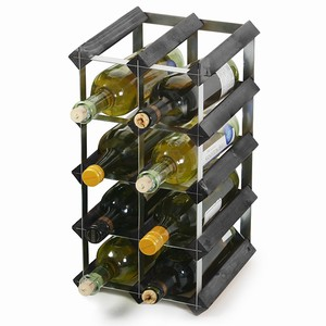 Wooden Wine Racks - Black Ash (2x4