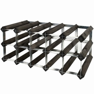 Wooden Wine Racks - Black Ash (6x6