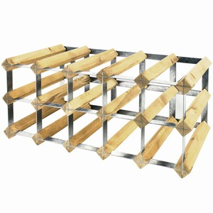 Wooden Wine Racks - Light Oak (3x4