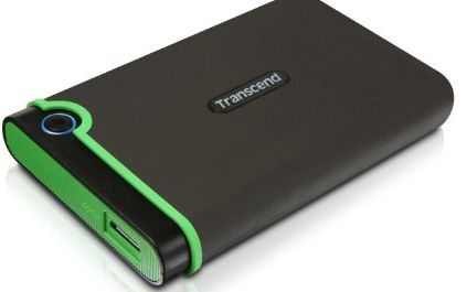 Transcend 1TB 2.5 inch USB 3.0 Military-Grade Shock Resistance Portable External Hard Drive product image