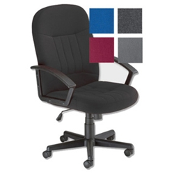 Trexus County Chair High Back Seat Charcoal product image