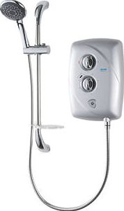 Triton, 1228[^]9640G T80 Easi-Fit Manual Electric Shower Satin