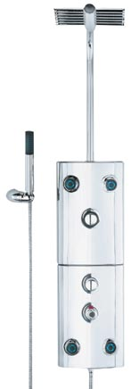 Unichrome Thermostatic Shower Tower