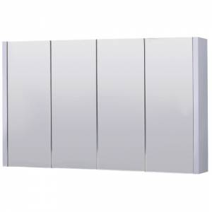 Trueshopping 1200mm wide lux mirror cabinet review for Bathroom cabinets 1200mm wide