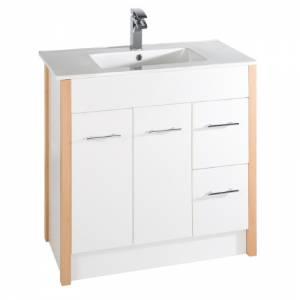 Beech bathroom cabinet