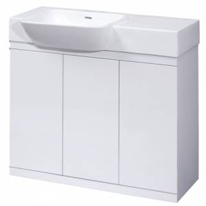 Trueshopping 900mm wide Lux vanity unit