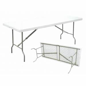 Dimensions: 1220mm length x 610 mm wide x 730mm height.  Table thickness: 50mm  Take a good look at  - CLICK FOR MORE INFORMATION