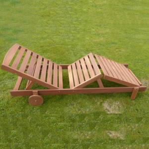 This `Salcombe`  Hardwood Sun lounger is fabulous value for money. Constructed from Shorea Hardwood  - CLICK FOR MORE INFORMATION