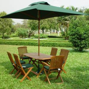 Serious `Al Fresco` Dining Set! New item available 25-7-08 - limited stock.   Mentmore Folding Table - CLICK FOR MORE INFORMATION