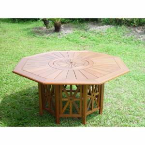 Outdoor Hardwood Mayfair Dining Table