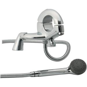 Trueshopping Round Deck Mounted Bath Shower Mixer product image