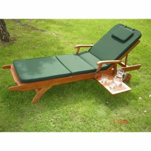 SUNLOUNGER CUSHION. Perfect partner for Trueshopping `Salcombe` or `Amalfi` Sunloungers. Size: 210 x - CLICK FOR MORE INFORMATION