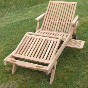 This beautifully crafted Sun Lounger is constructed from solid Teak  perfect for lounging on the pat - CLICK FOR MORE INFORMATION