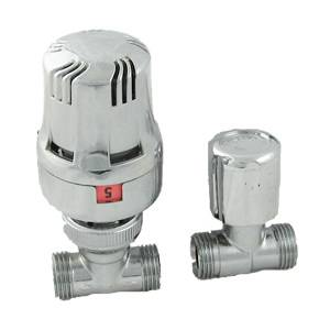 Trueshopping Thermostatic Chrome Radiator Valve product image