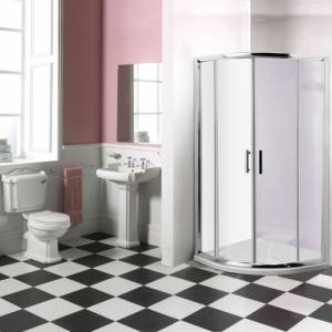 Trueshopping Traditional Enclosure Bathroom Suite product image