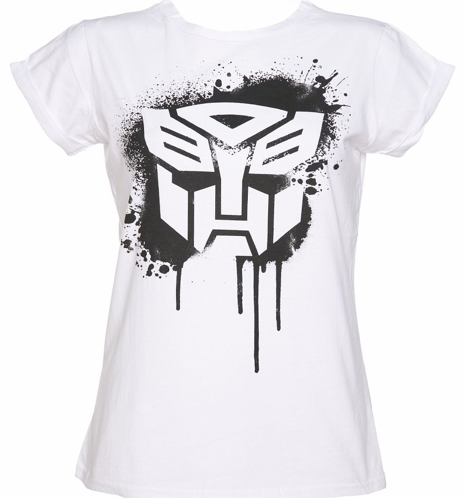 TruffleShuffle Ladies Autobot Transformers Stencil Rolled product image