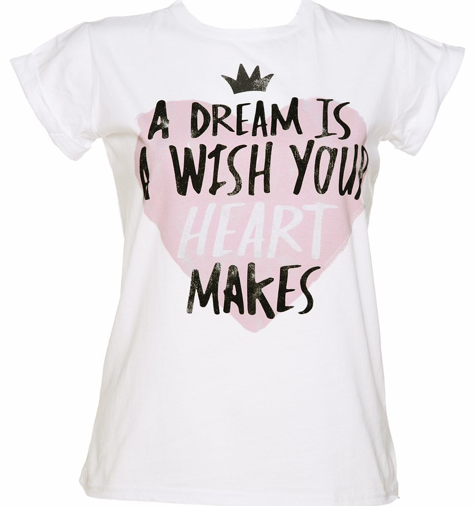 TruffleShuffle Ladies Cinderella A Dream Is A Wish Rolled product image