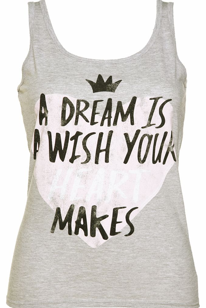 TruffleShuffle Ladies Cinderella A Dream Is A Wish Vest product image