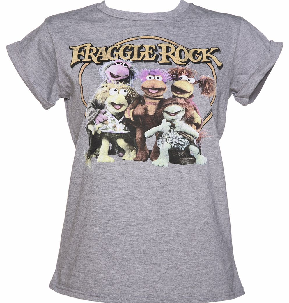 TruffleShuffle Ladies Fraggle Rock Gang Rolled Sleeve Boyfriend product image