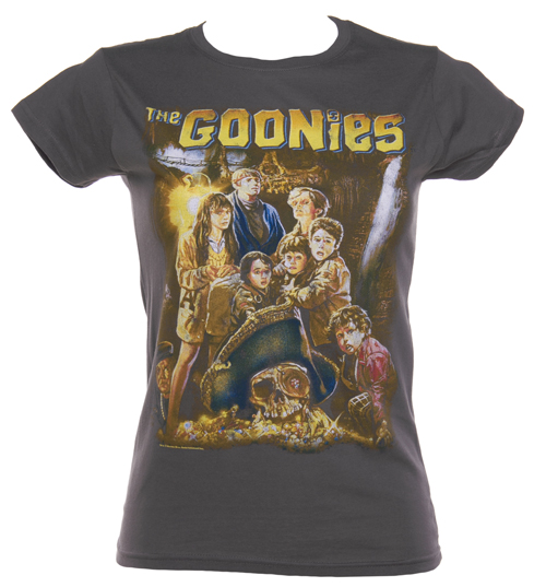 Ladies Goonies Movie Poster T-Shirt
