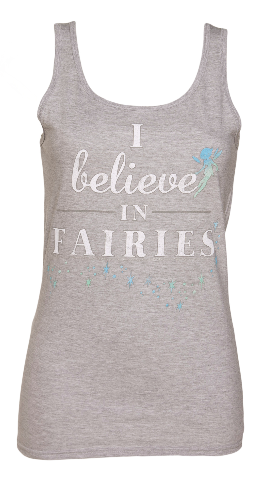 TruffleShuffle Ladies I Believe in Fairies Tinker Bell Vest product image