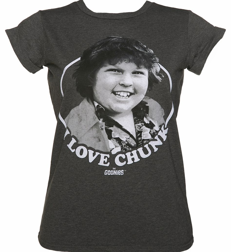 Ladies I Love Chunk Goonies Rolled Sleeve