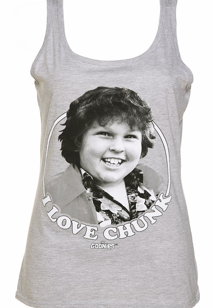 Ladies I Love Chunk Goonies Vest