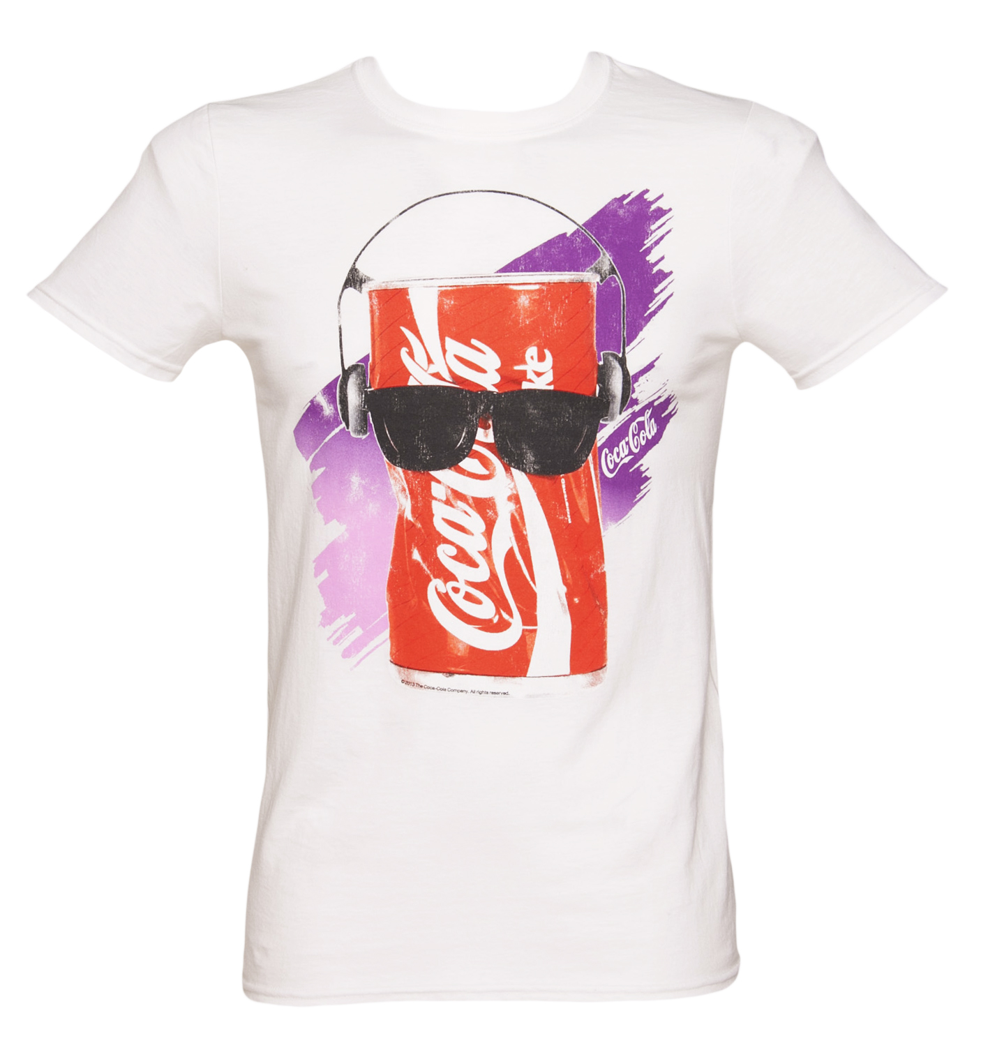 TruffleShuffle Mens 80s Dancing Coke Can T-Shirt product image