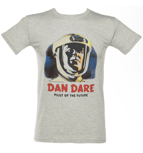 Mens Grey Dan Dare Pilot Of The Future