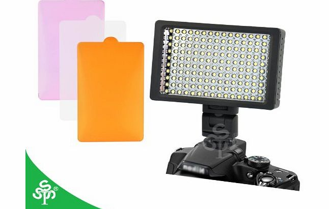 TSSS 160 LED HD-160 Dimmable Ultra High Power Panel Digital Camera / Camcorder Video Light, LED Light for Canon, Nikon, Pentax, Panasonic,SONY, Samsung and Olympus Digital SLR Cameras