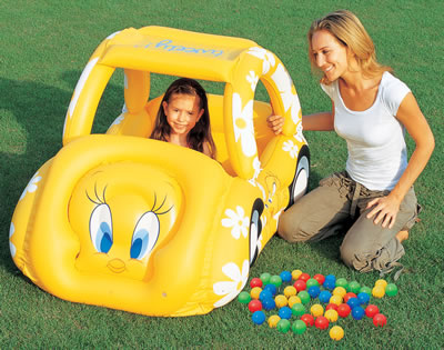 Play Car Pool with 50 Game Balls