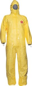 Tychem, 1228[^]7468H CHA5 Chemical Disposable Coverall Yellow