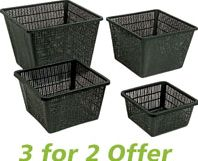 Ubbink Planting Baskets Large Square 30x20cm - 3