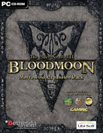 UBI SOFT Elder Scrolls III Morrowind Bloodmoon PC