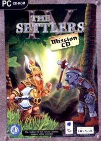 UBI SOFT The Settlers IV Mission CD PC