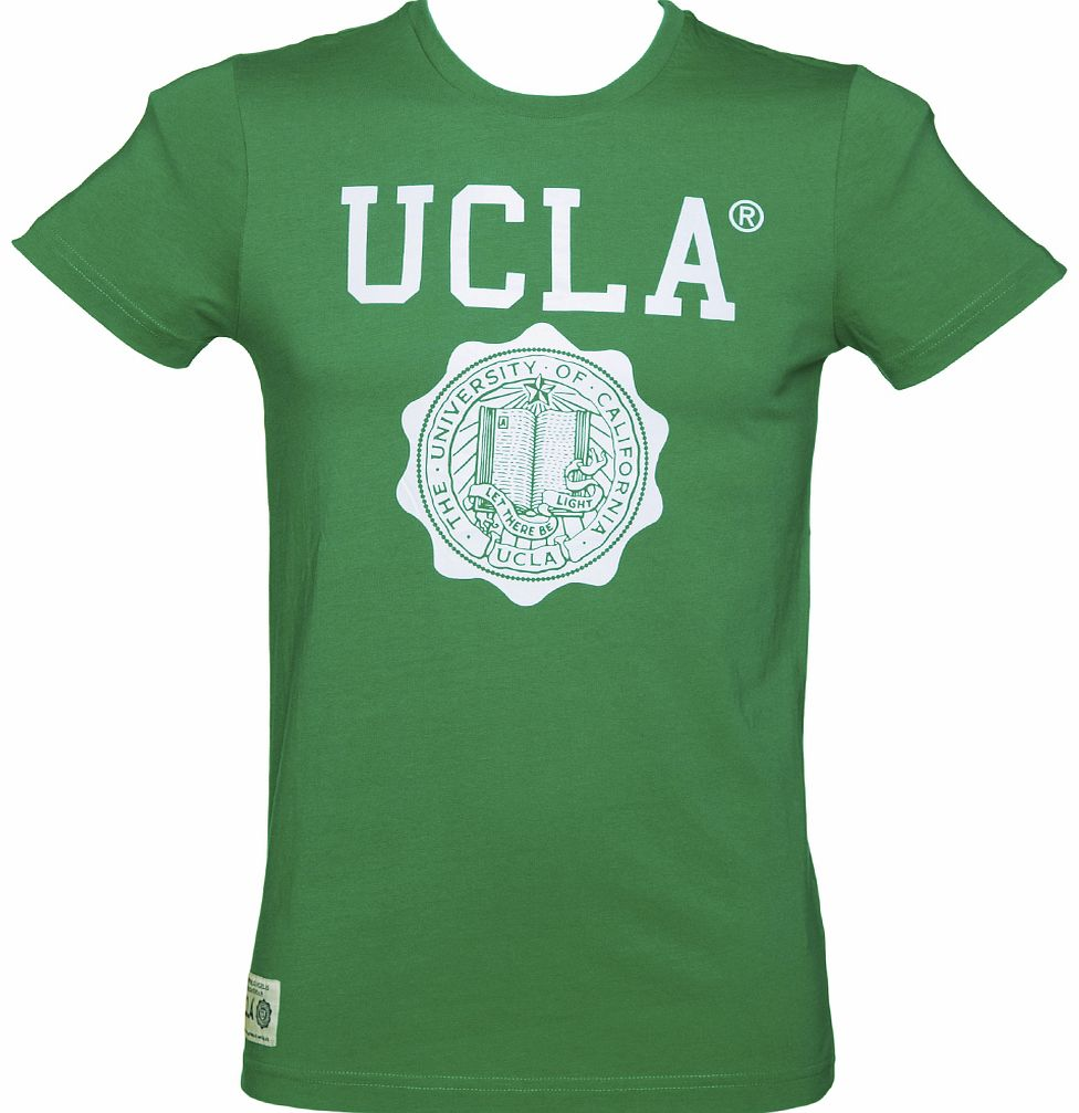 Mens Green Powell Crest T-Shirt from UCLA
