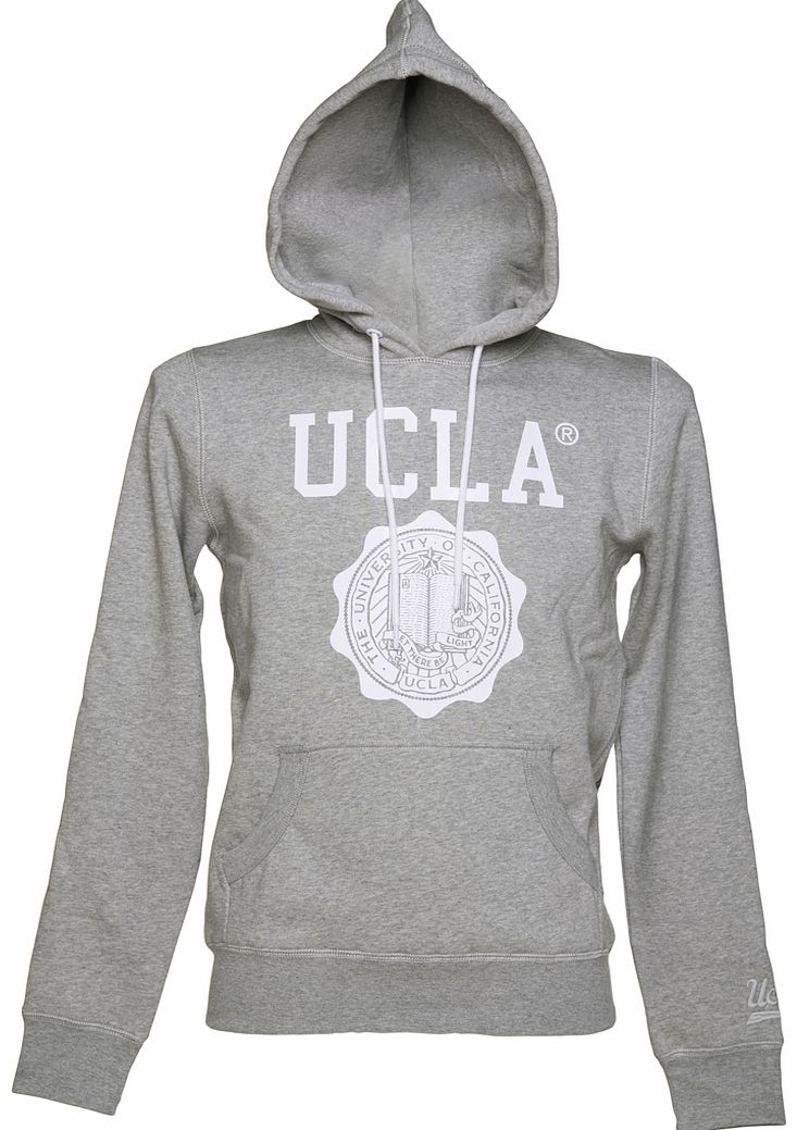 Mens Grey Marl Colin Hoodie from UCLA Clothing