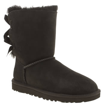 ugg australia Black Bailey Bow Boots