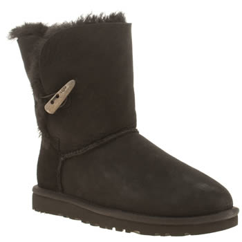 ugg australia Black Bailey Toggle Short Boots