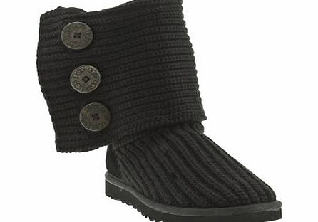 ugg australia Black Classic Cardy Boots