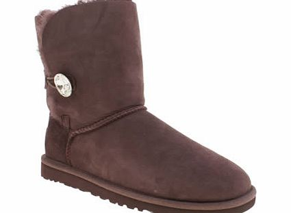 ugg australia Purple Bailey Button Bling Boots
