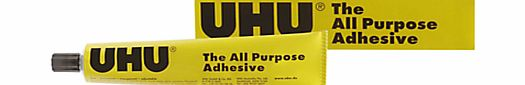 This handy, all-purpose adhesive from UHU is suitable for a variety of tasks, from household fixes to modelling and crafts. (Barcode EAN=4026700429459) - CLICK FOR MORE INFORMATION