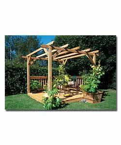 Ultimate pergola deck kit garden accessorie review for Garden decking kits uk