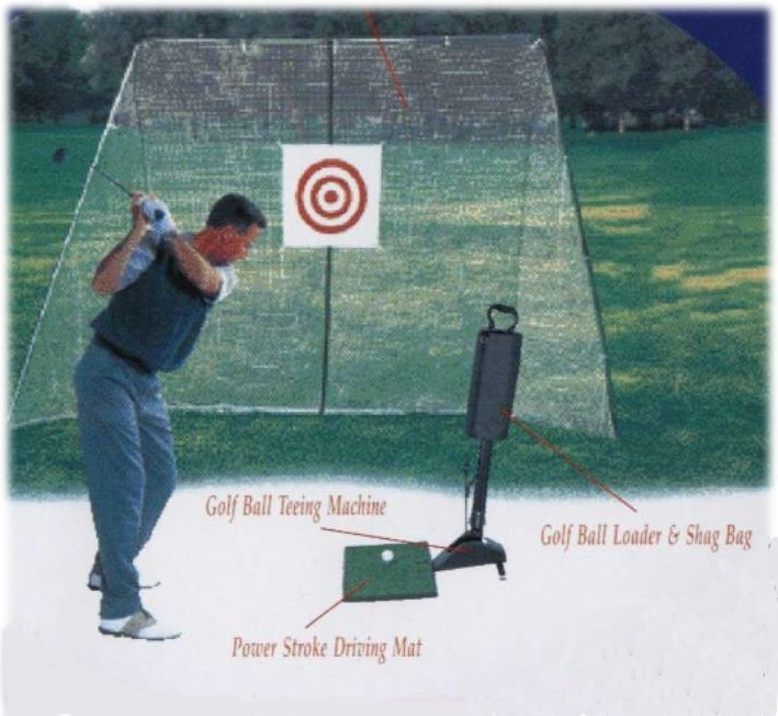 007 Golf Home Driving Range Set
