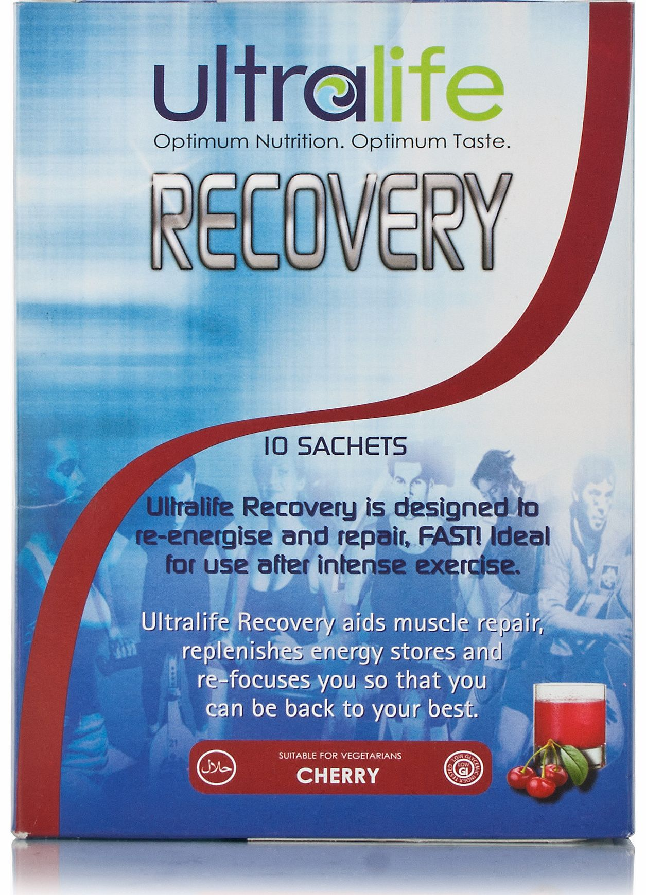 Ultralife Powder Mix To Aid Recovery Cherry